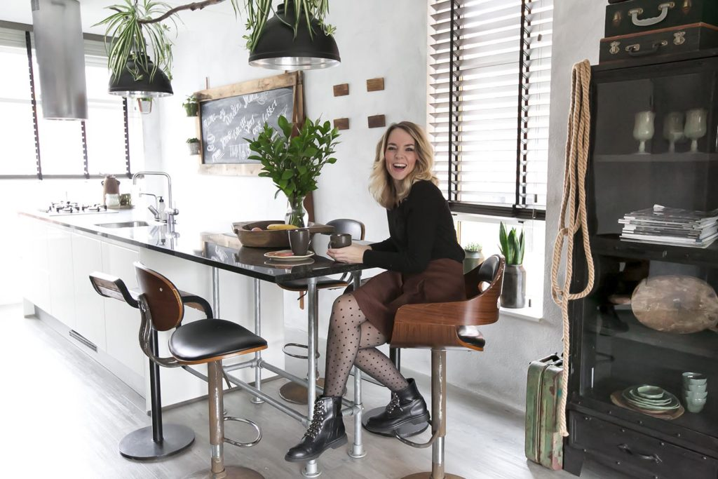 Wooninspiratie: binnenkijken bij Yvonne Kwakkel