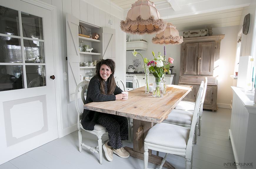 Interieur inspiratie opdoen in het Zaanse huisje van Nadine