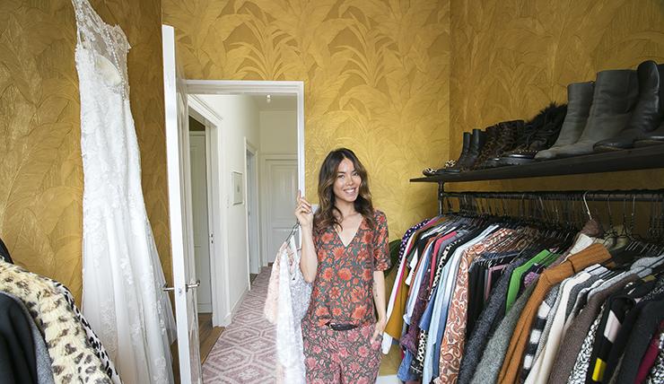 Mijn walk-in closet: bij deze een kijkje