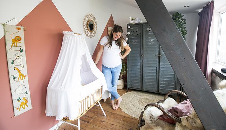 De alpaca babykamer van Michelle uit Haarlem