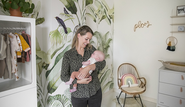 De tweeling babykamer van Suzanne uit Haarlem